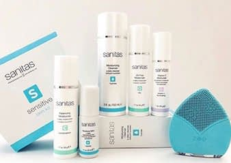 Sanitas Skin Care Products are available in Fort Collins - GLO Skin Spa